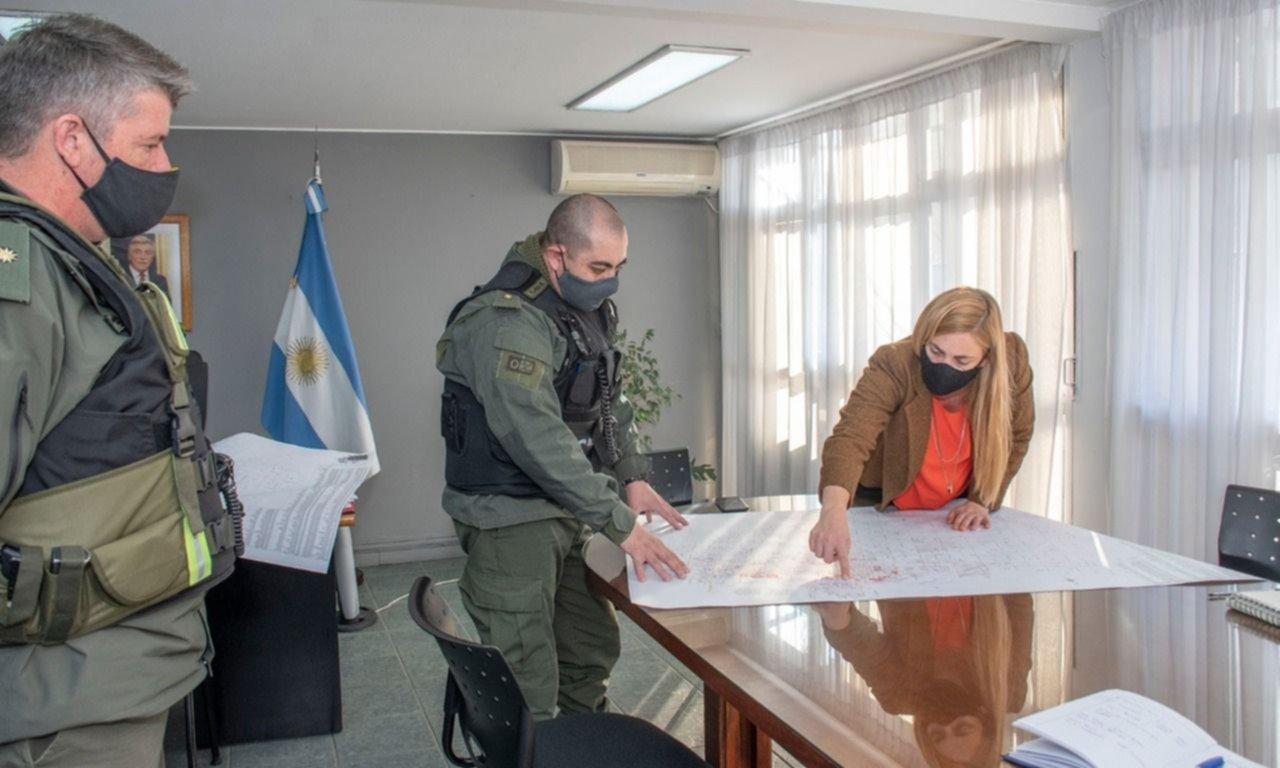 General Roca: gendarmes se suman a la lucha contra el Covid