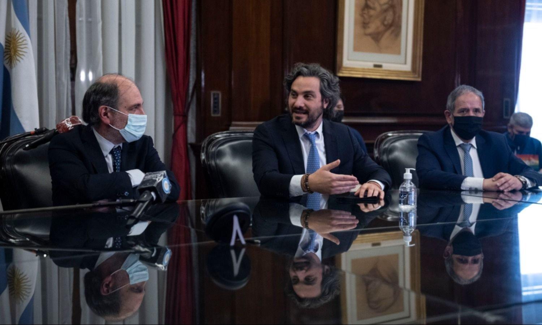 """Cafiero le devuelve el gesto a Santilli: """"Tenemos una coordinación lógica"""""""