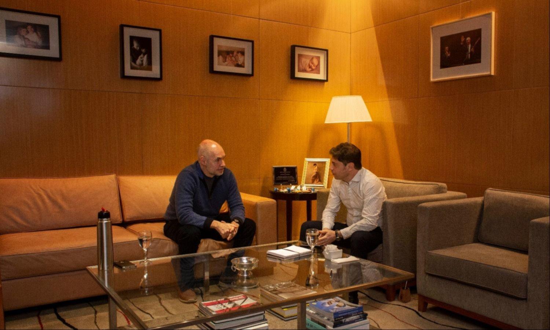 """Larreta quiere anunciar """"miniaperturas"""" para despegarse de Kicillof y Fernández"""