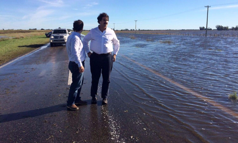 """Sarquís admite demoras pero promete reducir inundaciones """"en cinco años"""""""