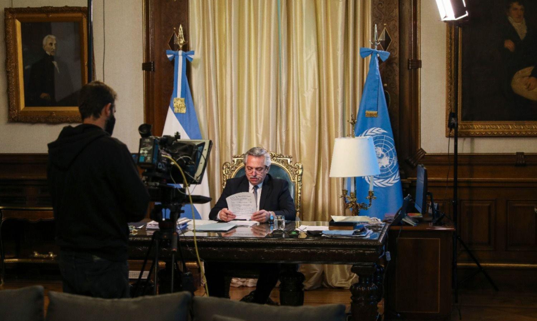 El manual peronista de Fernández en la ONU