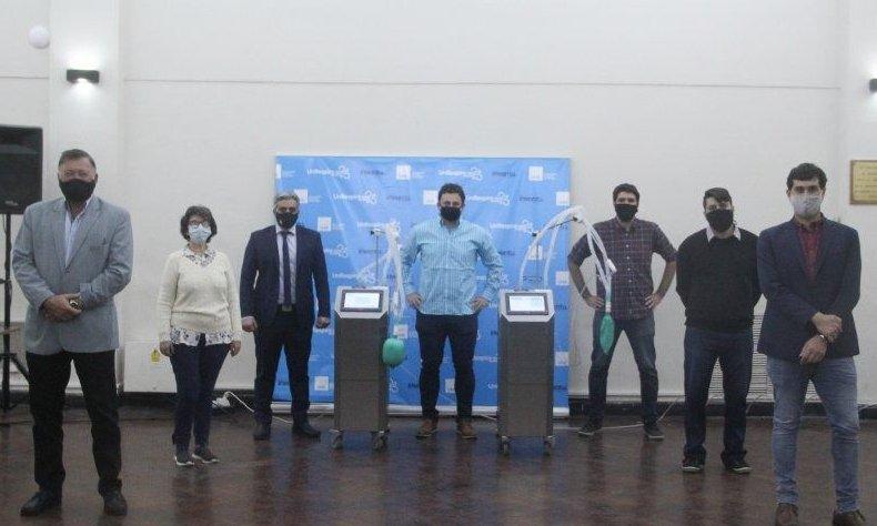 La Nación aprobó los respiradores hechos por la Universidad Nacional de Rosario