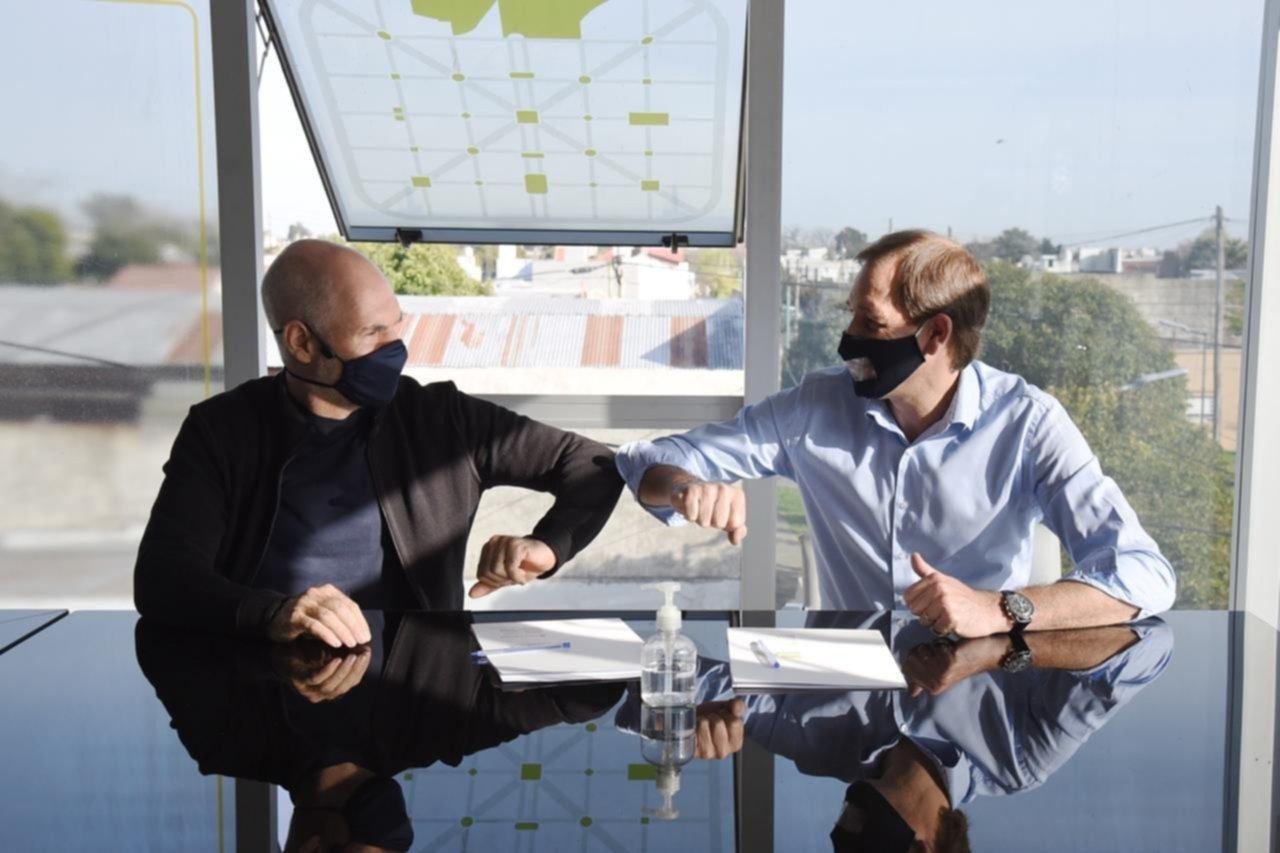 Larreta visitó a Garro: puente entre el presidenciable y los barones PRO