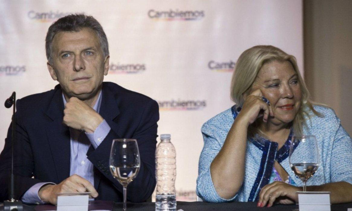 Macri defendió a Carrió y culpó a Cristina por el pedido de indagatoria