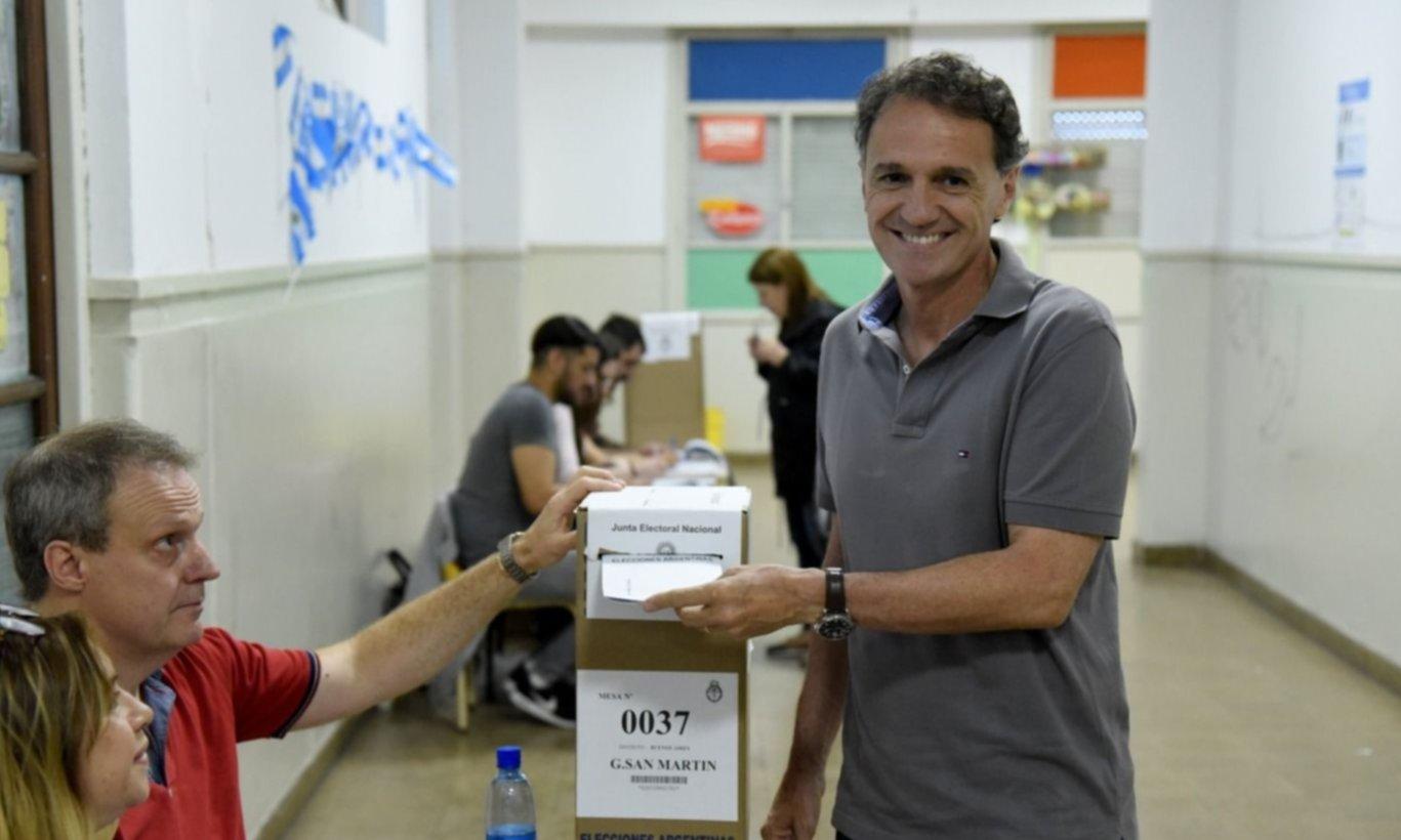 En San Martín ganó Katopodis con más del 50% de los votos