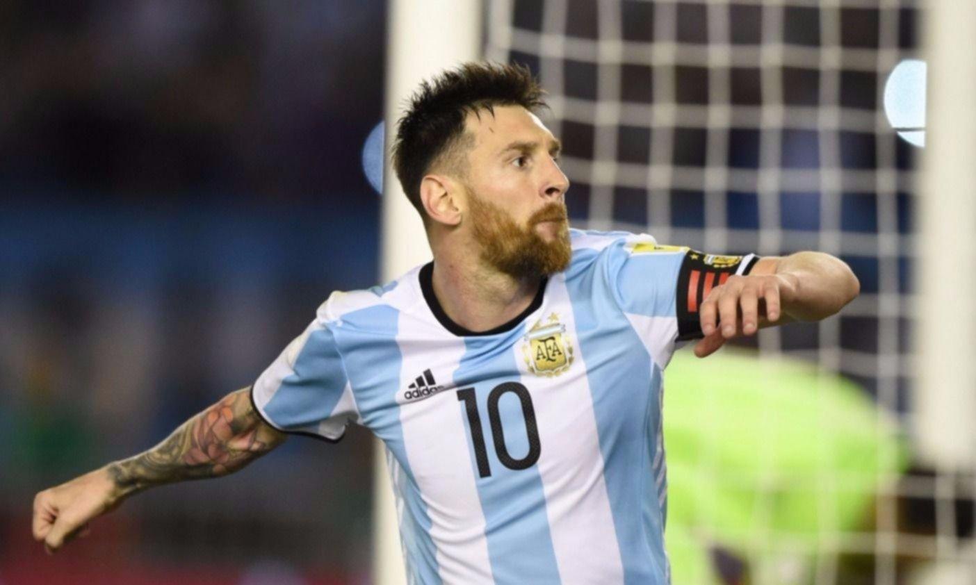 Messi será la imagen de la alianza entre YPF y AFA