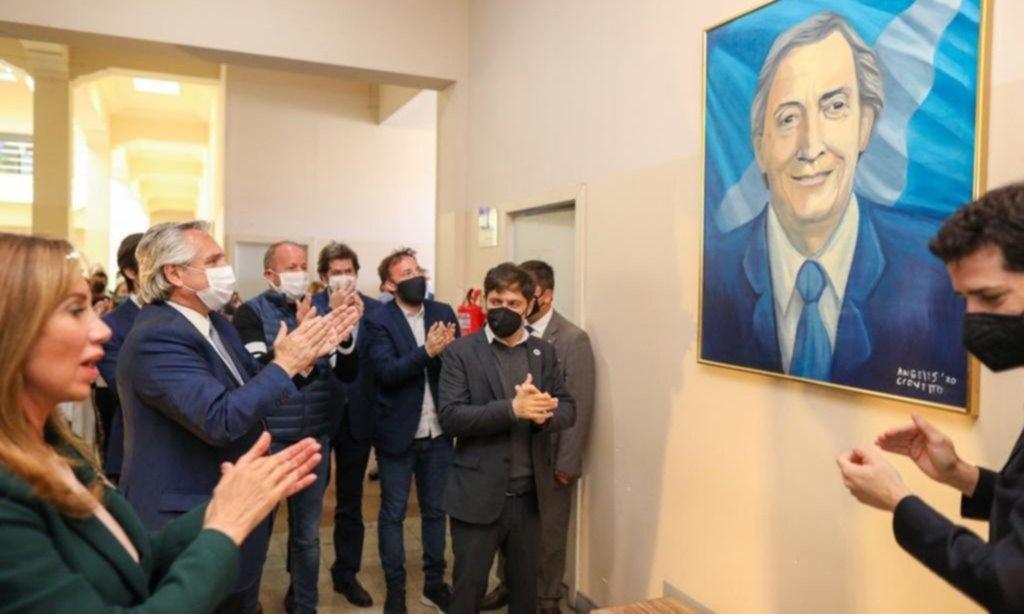 El Gobierno desdramatiza la ausencia de CFK en el homenaje a Kirchner