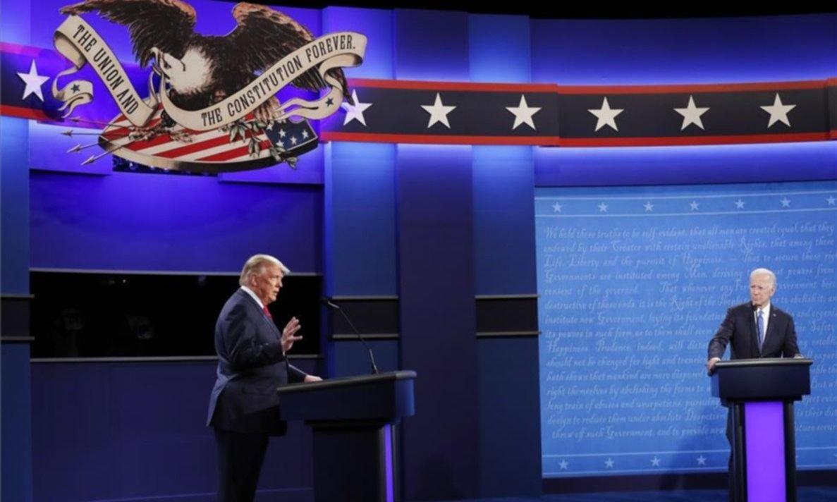 Trump y Biden coquetean con una crisis inédita que Argentina mira de reojo