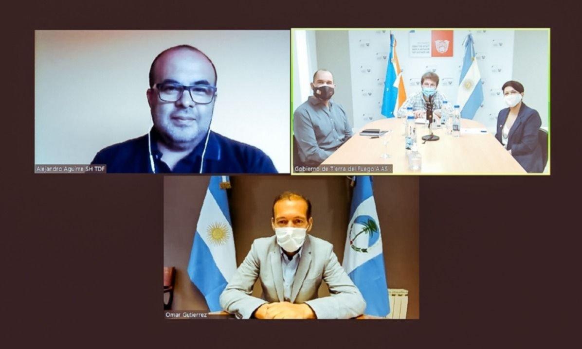 Liga de gobernadores: primera cumbre virtual de Gutiérrez y Melella