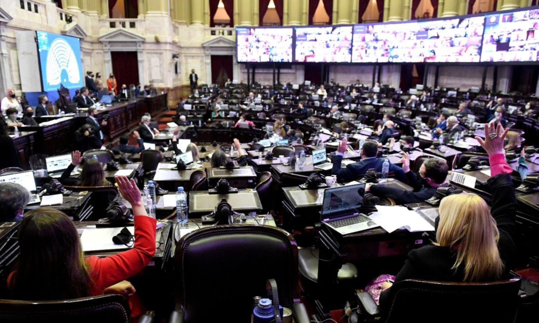 La foto de la grieta opositora que reveló la votación del presupuesto
