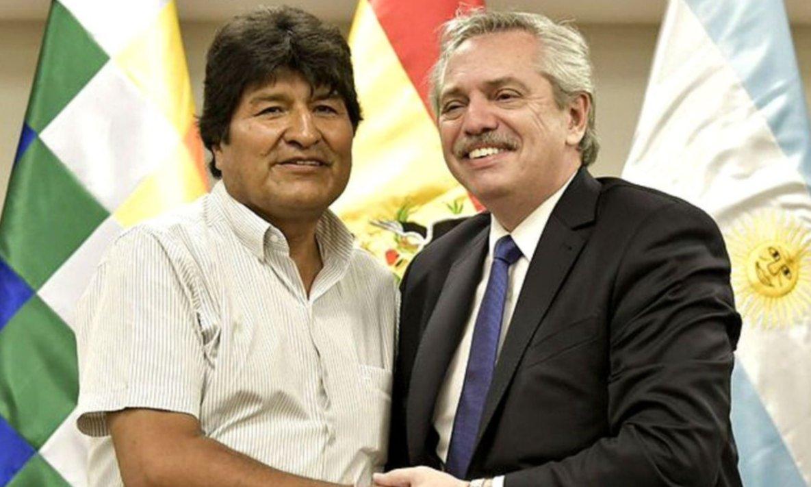 Evo Morales agradeció la propuesta de Fernández, pero seguirá en México