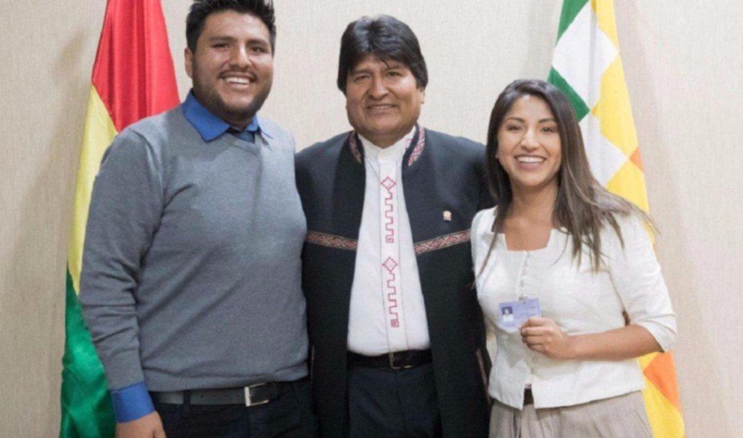 Tras las gestiones de Fernández, los hijos de Evo Morales llegaron al país