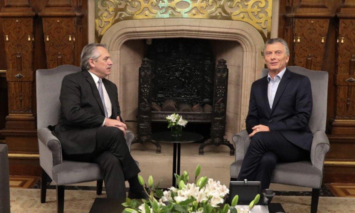 Macri le pidió a Fernández que reconozca a Áñez como presidenta de Bolivia