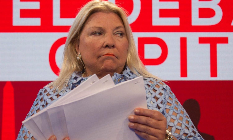 Pidieron la indagatoria a Carrió en la causa por espionaje PRO
