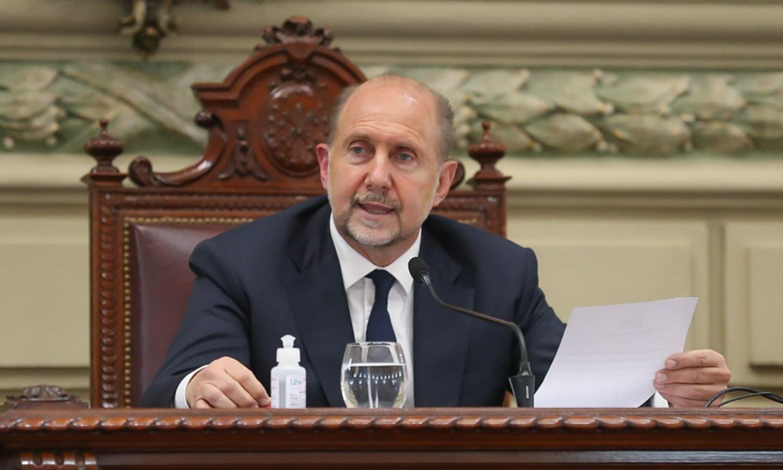 Mi veto es propositivo: Perotti pide que la paridad alcance a gobernador y vice