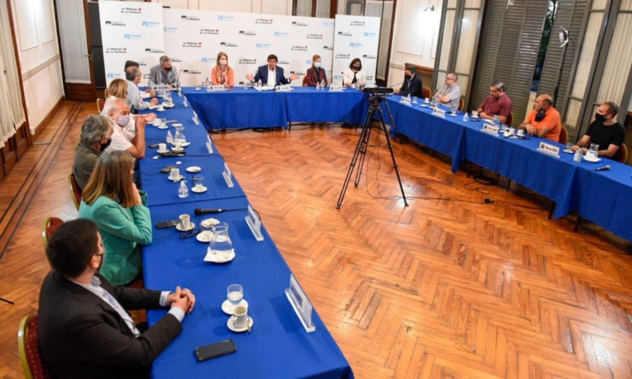 La Matanza: Espinoza encabezó un encuentro para avanzar con el Plan Estratégico