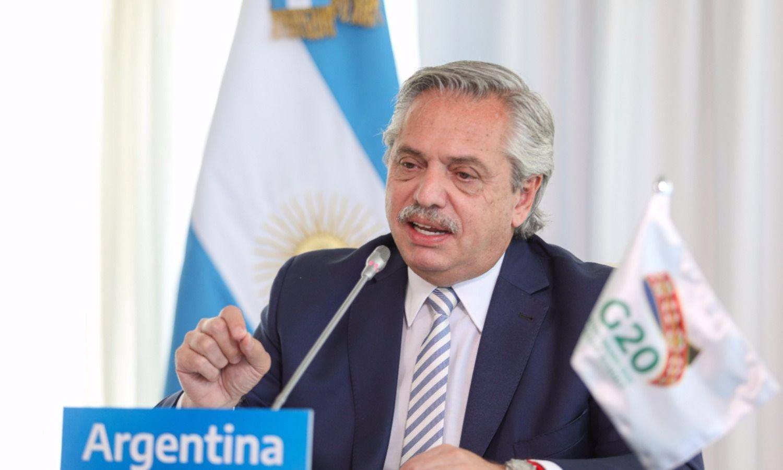 Alberto Fernández destacó en el G20 la oportunidad de lograr cambios